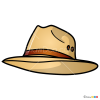 How to Draw Panama Hat, Hats