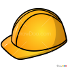 How to Draw Builder Helmet, Hats