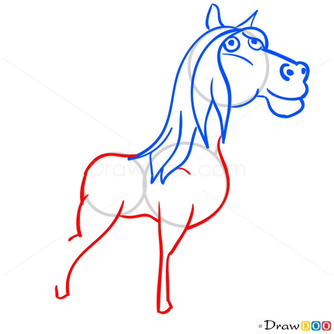 How to Draw Andalusian Horse, Hay Day