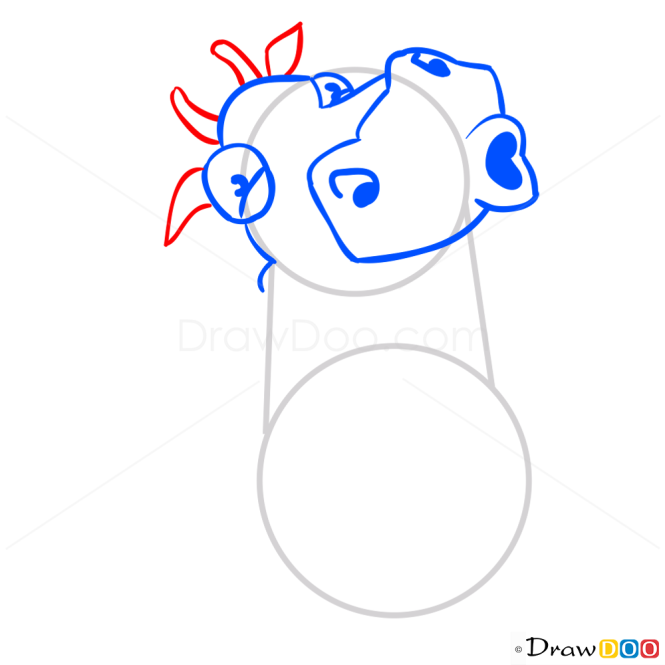 How to Draw Cow Milky, Hay Day