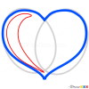 Heart Drawing Tutorial, Step by Step Drawing Lessons