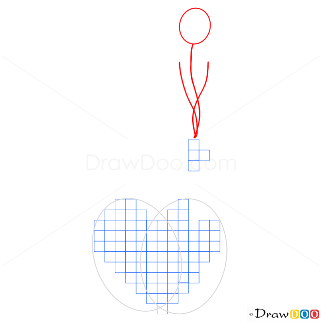 How to draw a Heart Tutorial, Step by Step Drawing Lessons