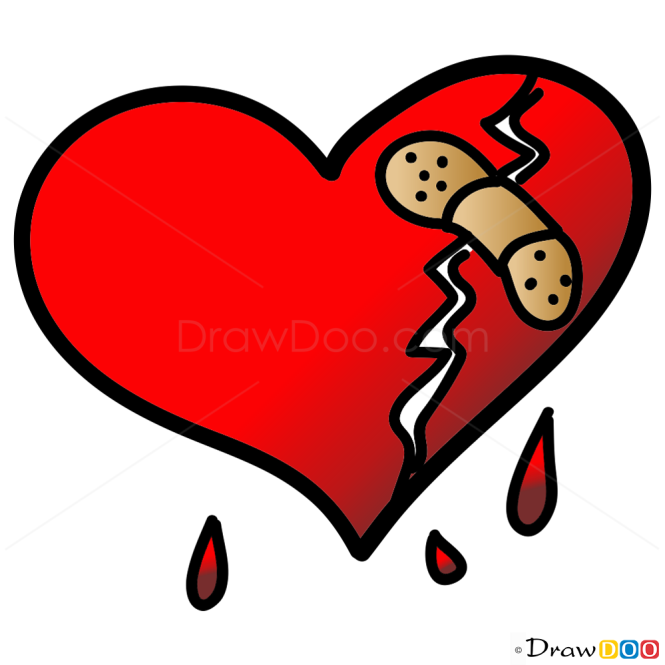 images of easy hearts to draw