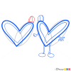How to Draw Hearts, Step by Step Drawing Lessons