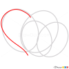 Hearts Drawings, Step by Step Drawing Lessons
