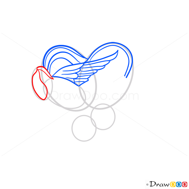 Drawing of a Heart, Step by Step Drawing Lessons