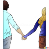 Cute Couple Drawings, Step by Step Drawing Lessons