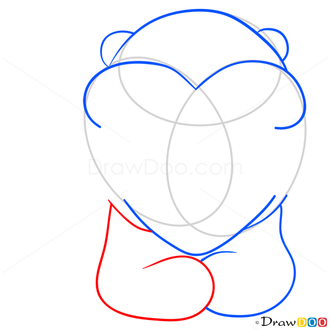 How to Draw Teddy Bear, Hearts