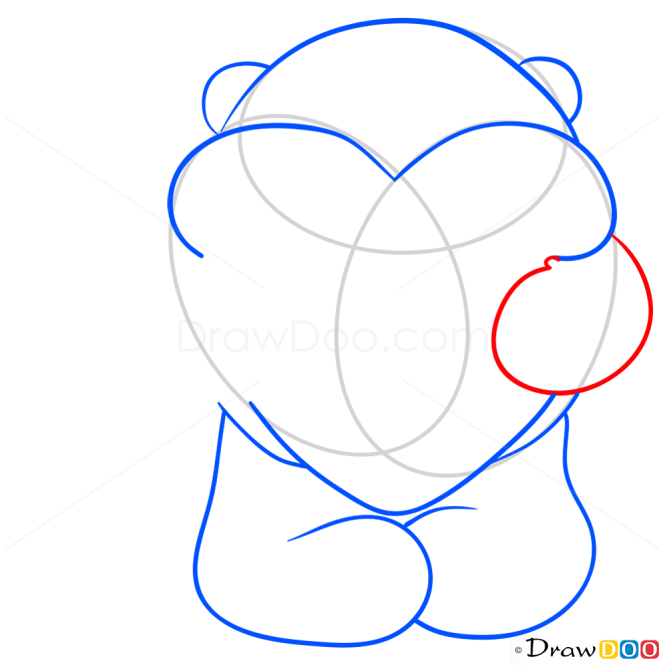 How to Draw Teddy Bear, Hearts