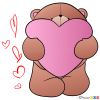 Draw Cute Teddy Bear, Step by Step Drawing Lessons