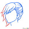 Drawing Hairstyles Lesson, Step by Step Drawing