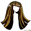 Draw Cleo Haircut Lesson, Step by Step Drawing