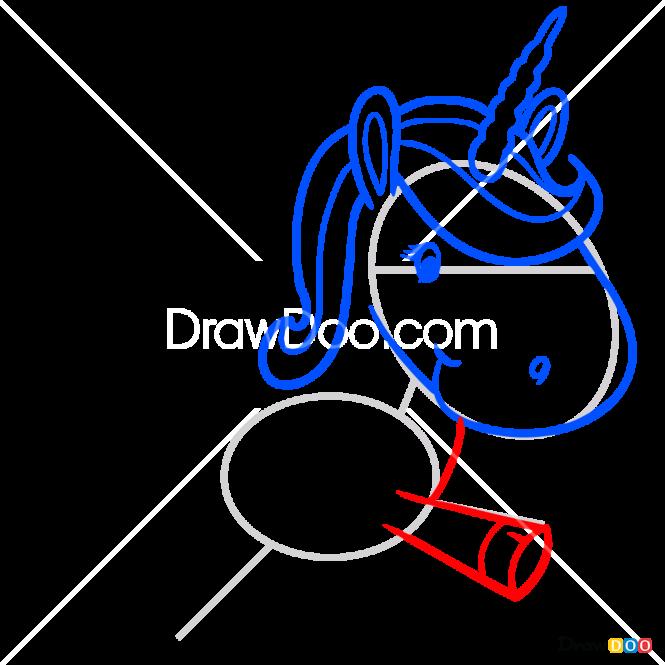 How to Draw Cute Unicorn, Horses and Unicorns