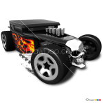 How to Draw Bone Shaker, Hot Wheels