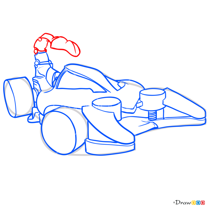 How to Draw Scorpedo, Hot Wheels
