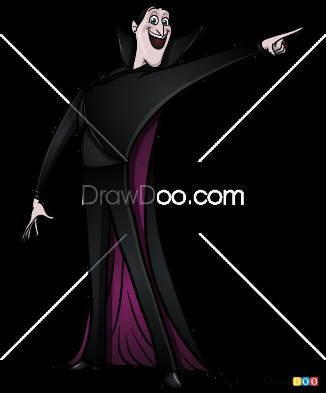 How to Draw Dracula, Hotel Transylvania
