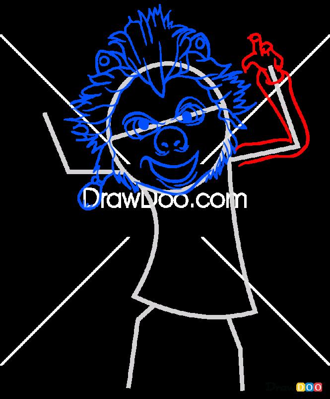 How to Draw Winnie, Hotel Transylvania