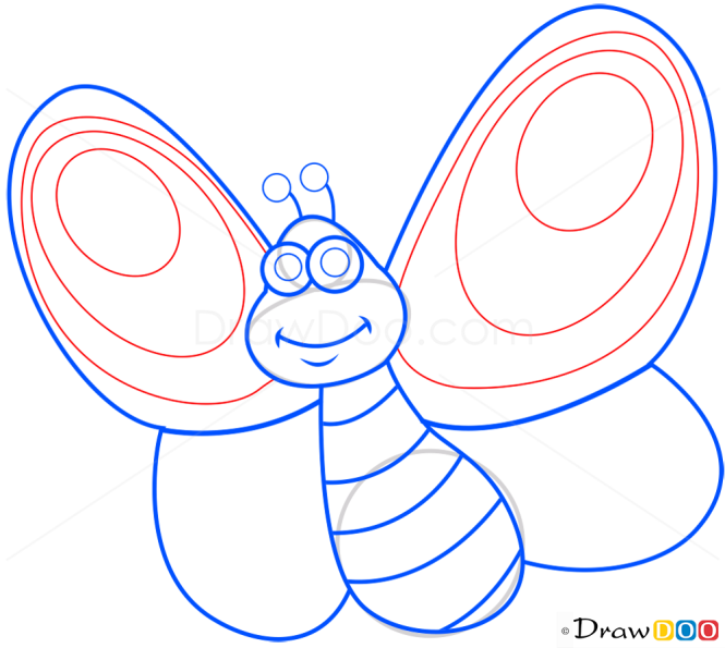 How to Draw Butterfly, Insects