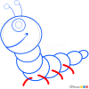 How to Draw Centipede, Insects