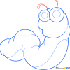 How to Draw Caterpillar, Insects