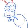 How to Draw Glowworm, Insects