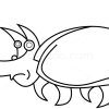 How to Draw Rhinoceros Beetle, Insects