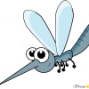 How to Draw Mosquito, Insects