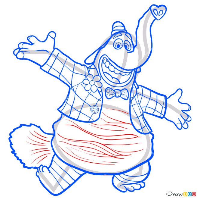 How to Draw Bing-Bong, Inside Out
