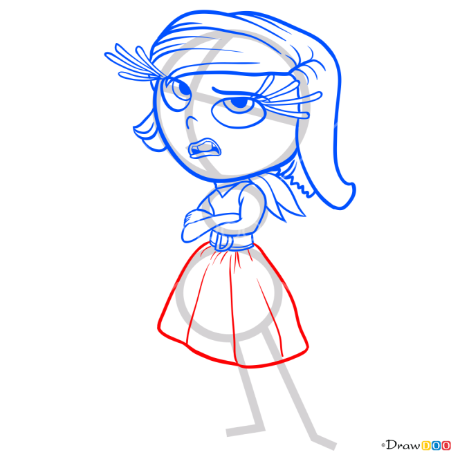 How to Draw Disgust, Inside Out