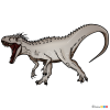 How to Draw Indominus Rex, Jurassic Dinosaurs