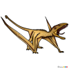 How to Draw Dimorphodon, Jurassic Dinosaurs