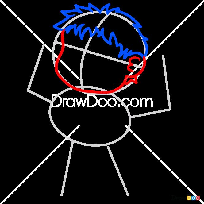 How to Draw Hulk, Kawaii