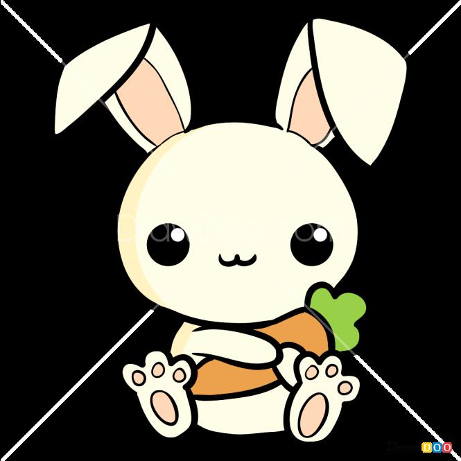 How to Draw Petite Rabbit, Kawaii