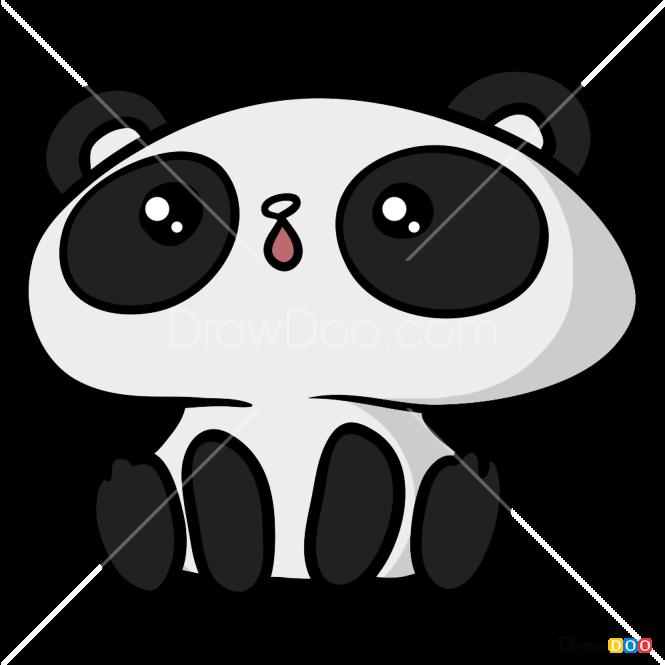 How to Draw Amazing Panda, Kawaii