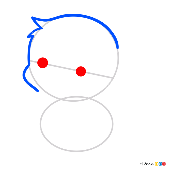 how to draw kawaii pikachu