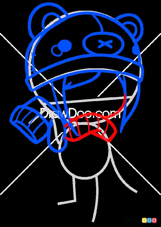 How to Draw Kawaii Girl, Kawaii