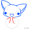 How to Draw Cute Fox, Kawaii