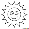 How to Draw Sun, Kids Draw