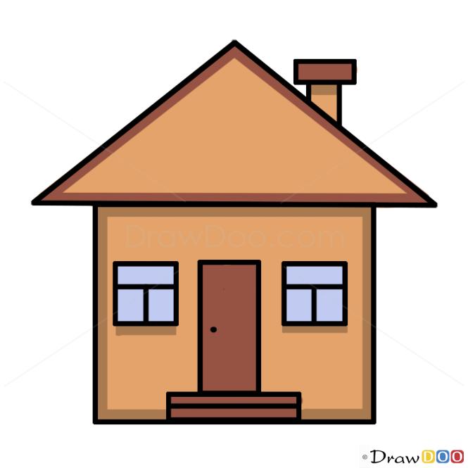 How to Draw House, Kids Draw