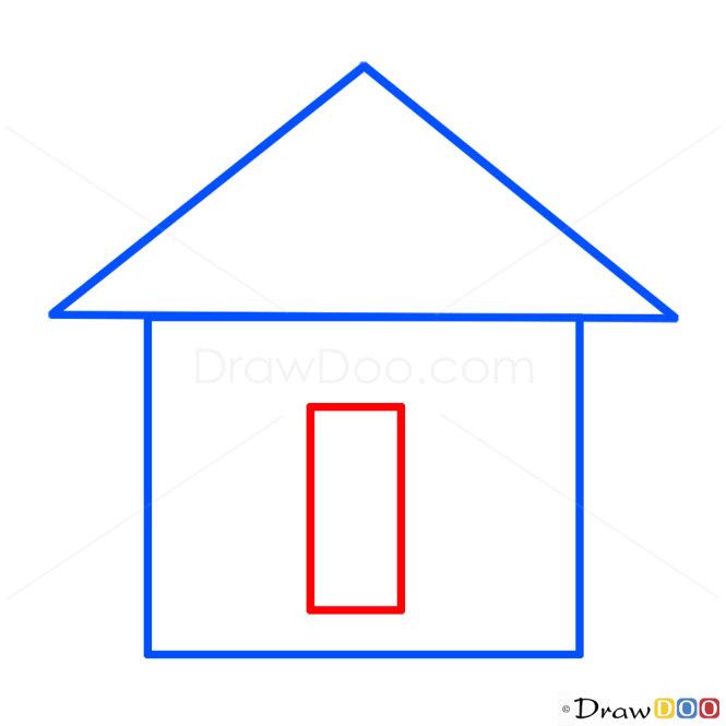How To Draw House Kids Draw