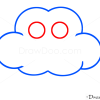 How to Draw Cloud, Kids Draw