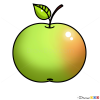 How to Draw Apple, Kids Draw