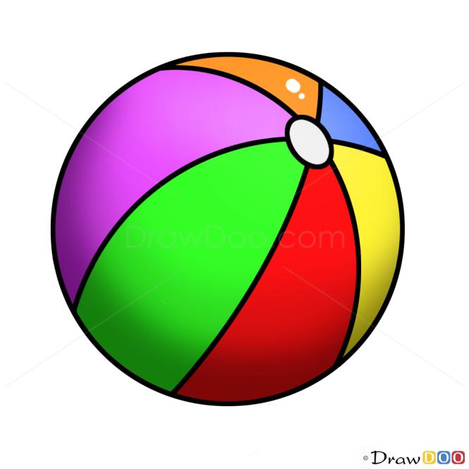 How to Draw Ball, Kids Draw