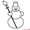 How to Draw Snowman, Kids Draw
