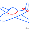 How to Draw Airplane, Kids Draw