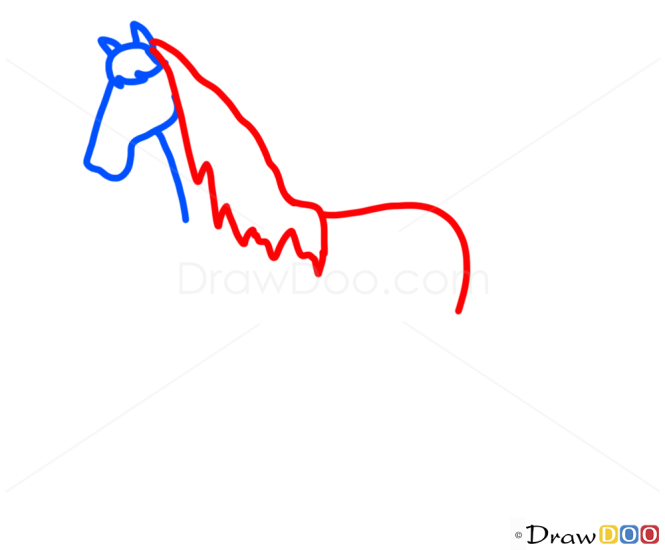 How to Draw Horse, Kids Draw