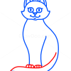 How to Draw Cat, Kids Draw