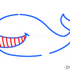 How to Draw Whale, Kids Draw
