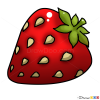 How to Draw Strawberry, Kids Draw