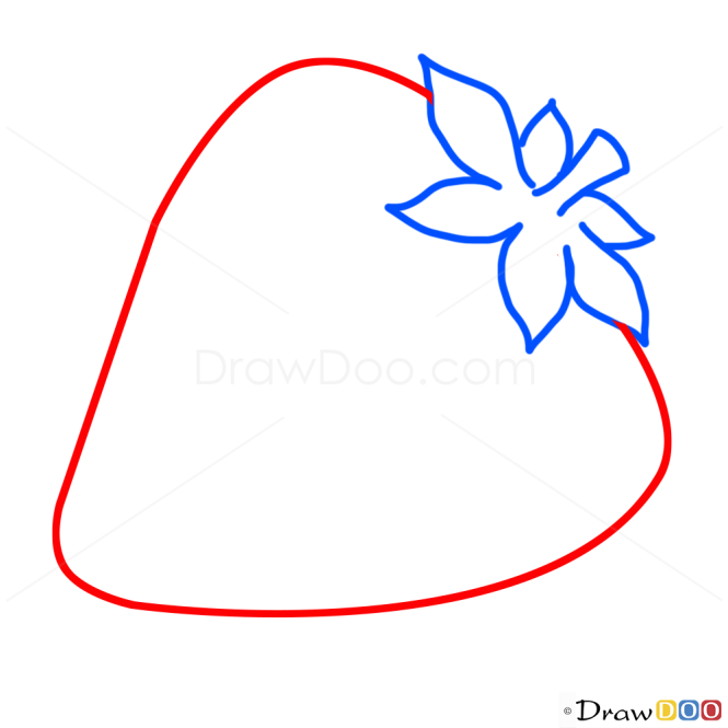 how to draw strawberry kids draw - Easy Pictures For Kids To Draw